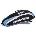 Babolat Team Racquet Holder x3 (Blue/ Black) - Babolat Team Tennis Bags