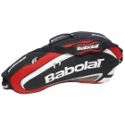 Babolat Team Racquet Holder x3 (Red/ Black) - Babolat Team Tennis Bags