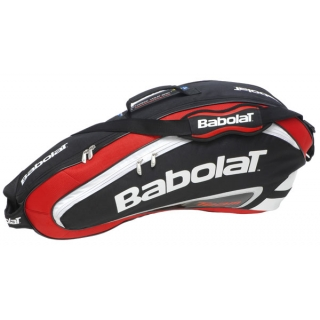Babolat Team Racquet Holder x3 (Red/ Black)