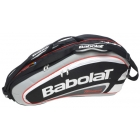 Babolat Team Racquet Holder x6 (Black/ Grey) - Babolat Team Tennis Bags