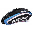 Babolat Team Racquet Holder x6 (Blue/ Black) - Babolat Team Tennis Bags
