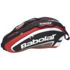 Babolat Team Racquet Holder x6 (Red/ Black) - Babolat Team Tennis Bags