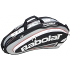 Babolat Team Racquet Holder x9 (Black/ Grey) - Babolat Team Tennis Bags