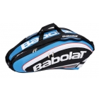 Babolat Team Racquet Holder x9 (Blue/ Black) - Babolat Team Tennis Bags