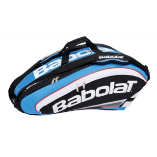 Babolat Team Racquet Holder x9 (Blue/ Black)