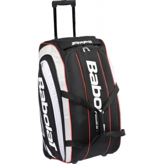 Babolat Team Travel Bag w. Wheels (Black/ Grey) from Do It Tennis