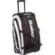 Babolat Team Travel Bag w. Wheels (Black/ Grey) - Tennis Duffel Bags