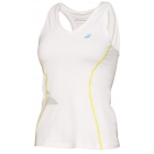 Babolat Girls' Crop Core Tank (White) - Babolat Tennis Apparel