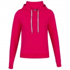 Babolat Women's Exercise Hooded Tennis Training Sweatshirt (Red Rose) -
