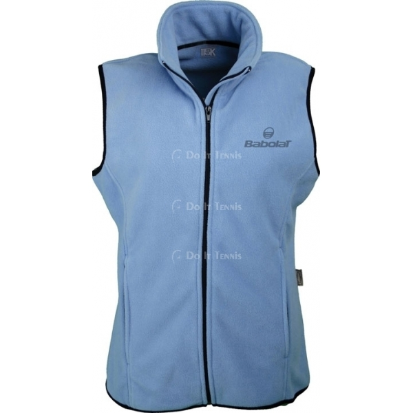 Babolat Women's Fleece Vest (Lt Blue)
