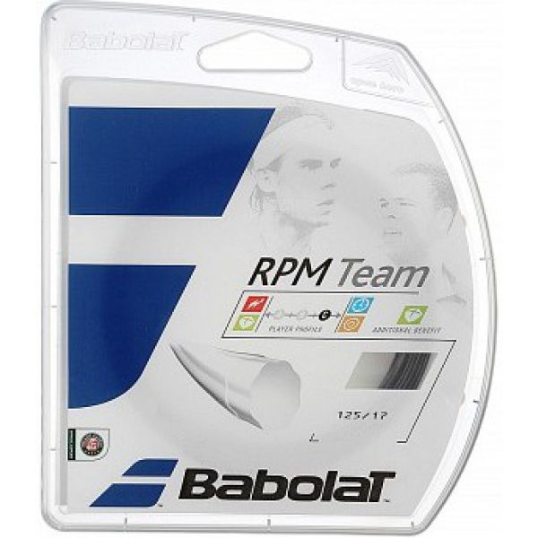 Babolat RPM Team 16g Tennis String Set (Black)