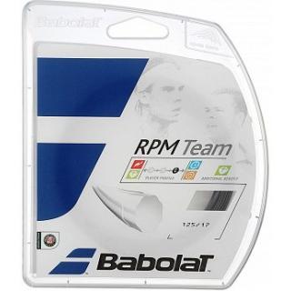 Babolat RPM Team 17g Tennis String Set (Black)