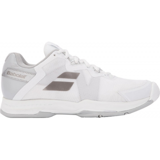 Babolat Women's SFX 2 All Court Tennis Shoes (White/Silver)