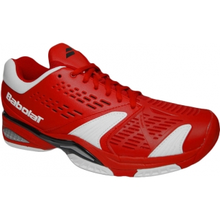 Babolat Men's SFX Tennis Shoes (Red/ White)