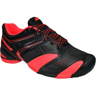 Babolat Men's V-Pro 2 All Court Tennis Shoes (Black/ Red)