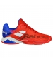 Babolat Men's Propulse Fury All Court Tennis Shoes (Bright Red/Electric Blue) - Tennis Shoes
