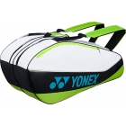 Yonex Sport Bag 6 Pack (White) - 6 Racquet Tennis Bags