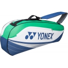 Yonex Sport Series 3-Pack Racquet Bag (Blue/Green) - New Yonex Racquets, Bags, Shoes