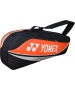 Yonex Sport Series 3-Pack Racquet Bag (Orange) - Tennis Racquet Bags