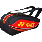 Yonex Sport Bag 6 Pack (Red) - 6 Racquet Tennis Bags