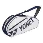 Yonex Tournament 3-Pack Racquet Bag (White) - 3 Racquet Tennis Bags
