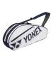 Yonex Tournament 3-Pack Racquet Bag (White) - New Yonex Racquets, Bags, Shoes
