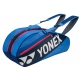 Yonex Tournament Basic 6-Pack Racquet Bag (Blue) - Tennis Racquet Bags