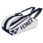 Yonex Tournament Basic 6-Pack Racquet Bag (White) - Tournament Basic