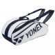Yonex Tournament Basic 6-Pack Racquet Bag (White) - Tennis Racquet Bags