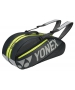 Yonex Tournament Basic 6-Pack Racquet Bag (Dark Grey)  - New Yonex Racquets, Bags, Shoes