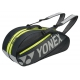 Yonex Tournament Basic 6-Pack Racquet Bag (Dark Grey)  - Tennis Racquet Bags