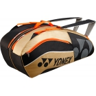 Yonex Sport Bag 6 Pack (Black/Gold) - New Yonex Racquets, Bags, Shoes