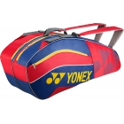 Yonex Sport Bag 6 Pack (Red/Blue) - New Yonex Racquets, Bags, Shoes