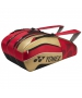Yonex Pro Series 9-Pack Racquet Bag (Red/Black/Gold) - New Yonex Racquets, Bags, Shoes