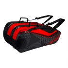 Yonex Tournament Series 9-Pack Racquet Bag (Black/Red) - Tennis Bag Types