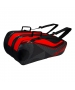 Yonex Tournament Series 9-Pack Racquet Bag (Black/Red) - New Yonex Racquets, Bags, Shoes