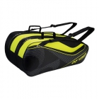 Yonex Tournament Series 9-Pack Racquet Bag (Black/Yellow) - Tennis Racquet Bags