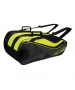 Yonex Tournament Series 9-Pack Racquet Bag (Black/Yellow) - New Yonex Racquets, Bags, Shoes
