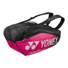 Yonex Pro Series 6-Pack Racquet Bag (Black/Pink) - Tennis Gifts for Women
