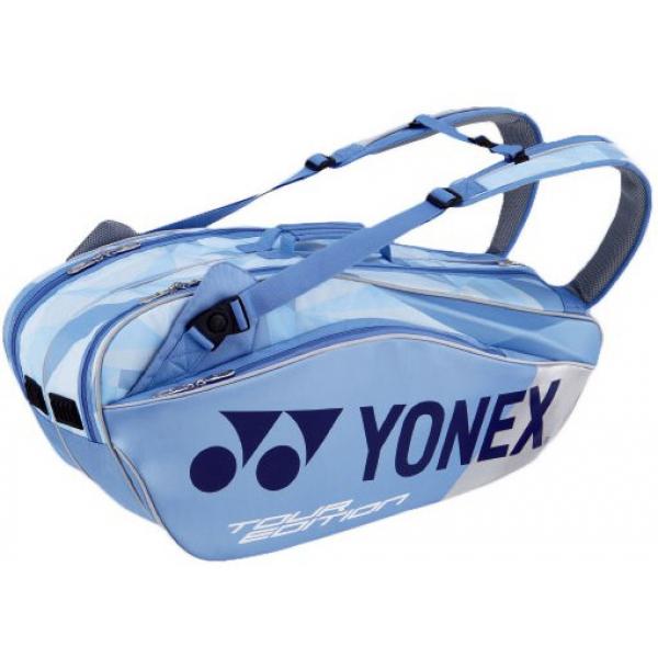 Yonex Pro Series 6-Pack Racquet Bag (Clear Blue)