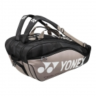Yonex Pro Series 9-Pack Racquet Bag (Black/Platinum) - New Yonex Racquets, Bags, Shoes