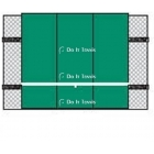 Bakko Economy Flat Series Backboard 10' x 12' - Shop the Best Selection of Tennis Backboards