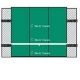 Bakko Economy Flat Series Backboard 10' x 12' - Bakko Tennis Equipment