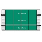 Bakko Economy Flat Series Backboard 10' x 16' - Tennis Equipment Types