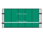 Bakko Economy Flat Series Backboard 10' x 20' - Shop the Best Selection of Tennis Backboards