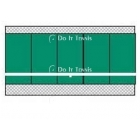 Bakko Economy Flat Series Backboard 8' x 20' - Bakko Tennis Equipment