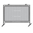 Bakko Outdoor Fence Mount Tennis Rebound Net 9.25'x 12.5' -