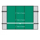 Bakko Professional Flat Series Backboard 10' x 12' - Tennis Equipment Types