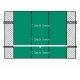 Bakko Professional Flat Series Backboard 10' x 12' - Bakko Tennis Equipment