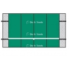 Bakko Professional Flat Series Backboard 10' x 16' - Tennis Equipment Types